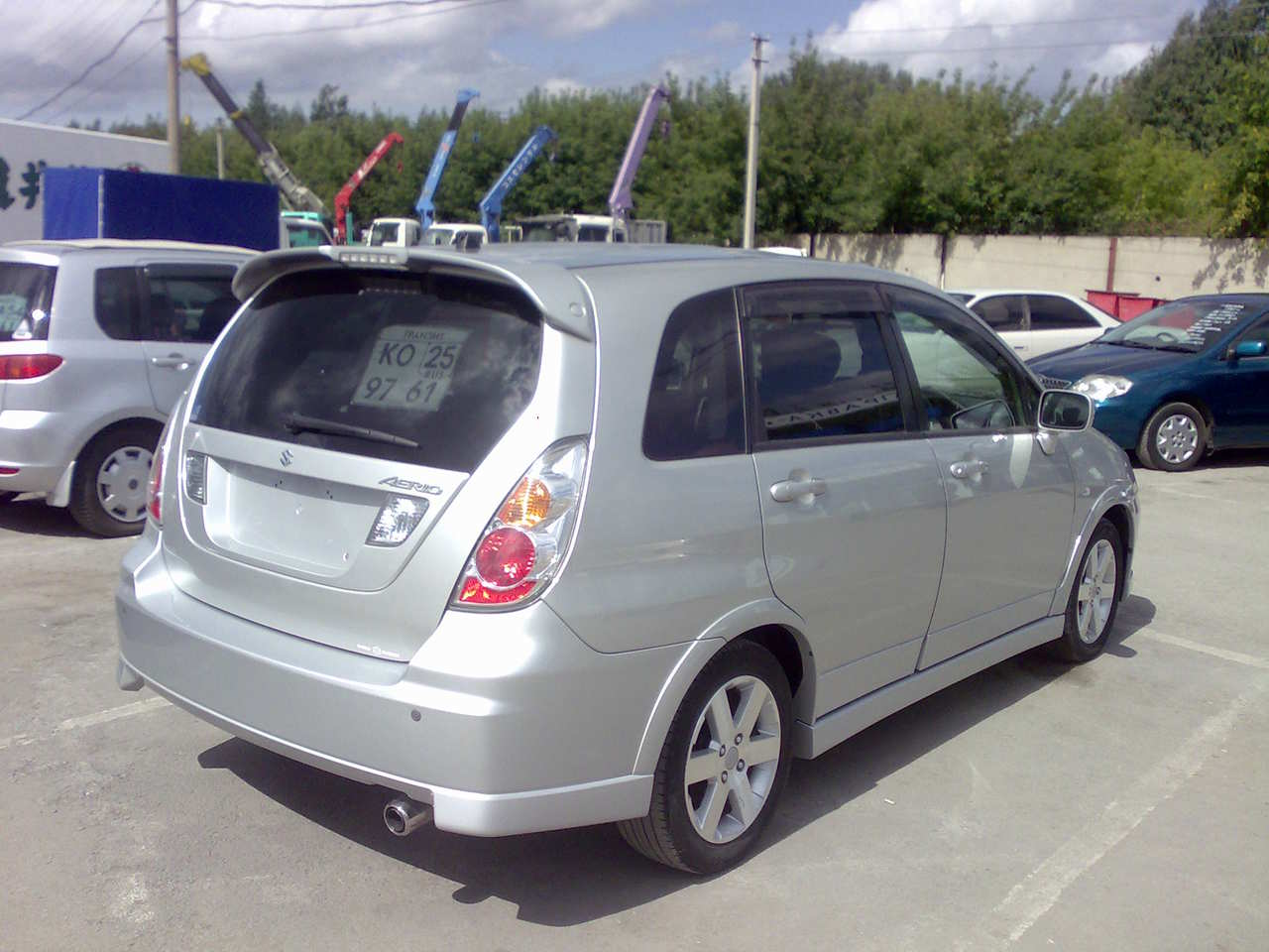 hight resolution of photo 1 enlarge photo 1280x960 2005 suzuki aerio wagon photos