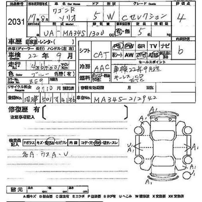 2005 Suzuki Wagon R Solio specs, Engine size 1300cm3, Fuel