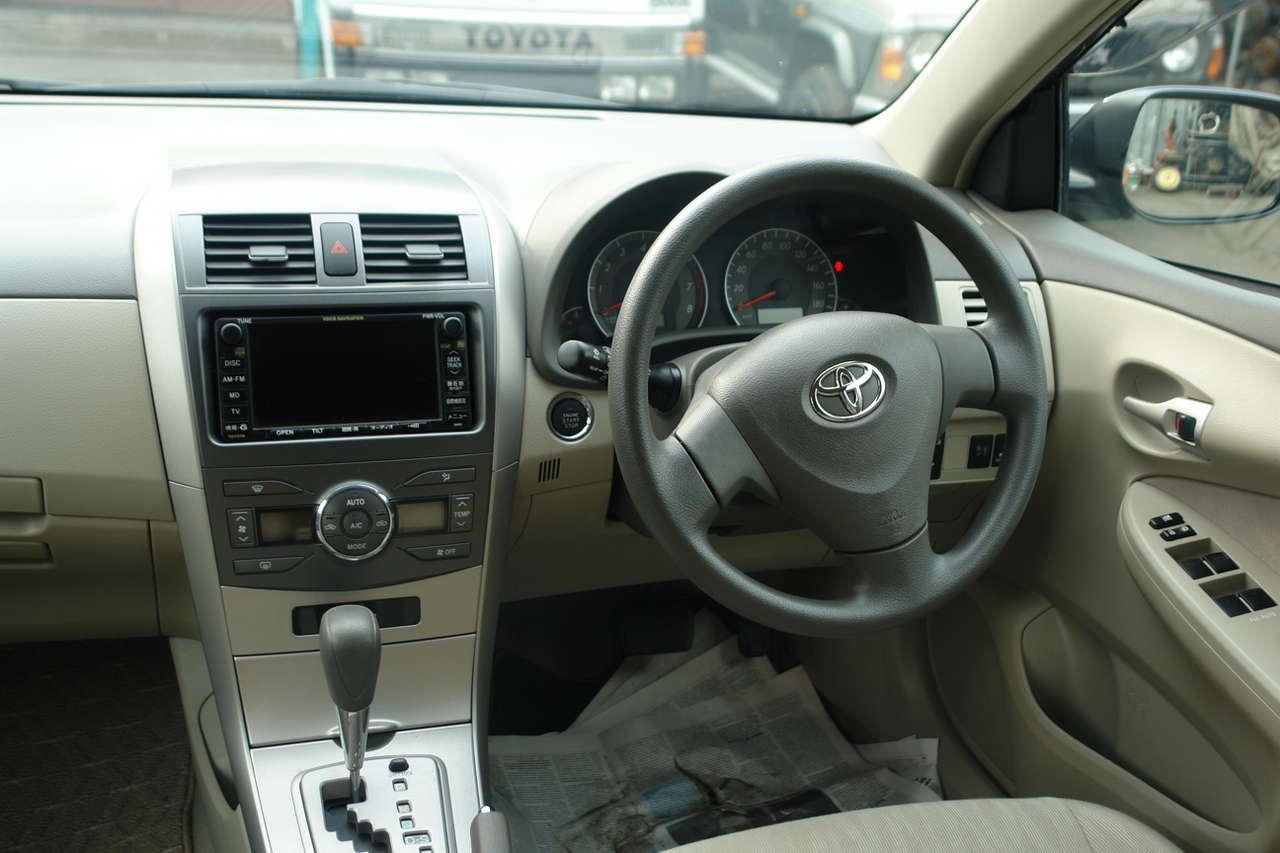 2007 Toyota Corolla Fielder Wallpapers 15l Gasoline