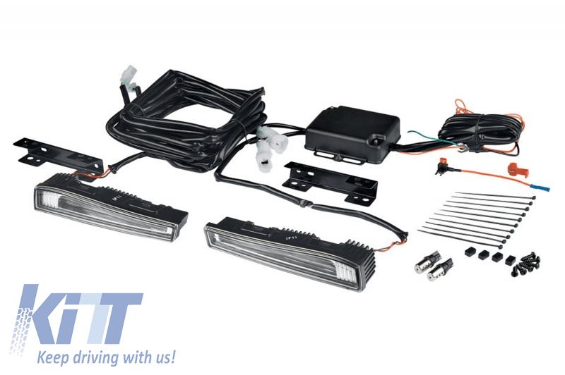LEDDRL102-CL Universal OSRAM LED Running Light Kit for 178