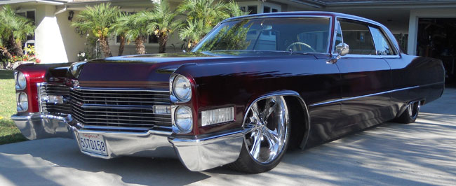 1966 Cadillac Coupe DeVille Lowrider