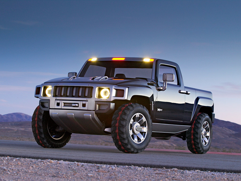 hight resolution of hummer h3t concept wallpapers