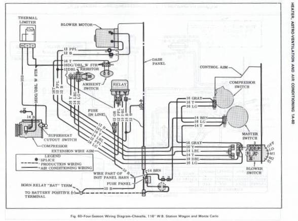 wiring diagram 1970 chevelle ss