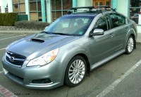 2012 Subaru Legacy options photo page