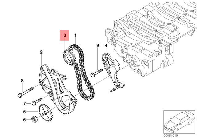 Genuine BMW E46 E60 E60N E61 E61N E63 E64 Crankshaft
