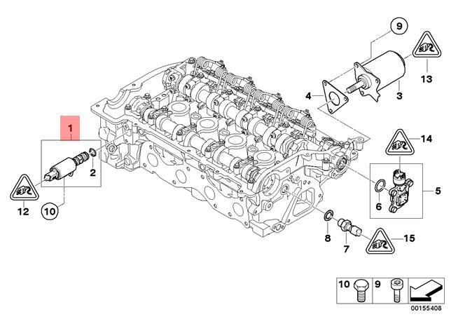 Genuine BMW F20 F20N F21 F21N Vanos Solenoid Variable