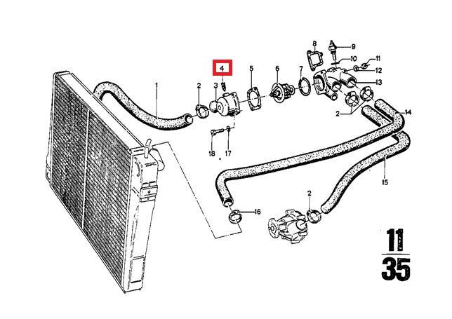 Genuine BMW E12 E21 E23 E24 E26 E28 E3 E30 E32 E34 Vent