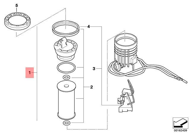 Genuine MINI R55 R56 Fuel Filter With Fuel Level Sensor