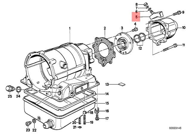 Genuine BMW E12 E21 Automatic AT Transmission Bleeder