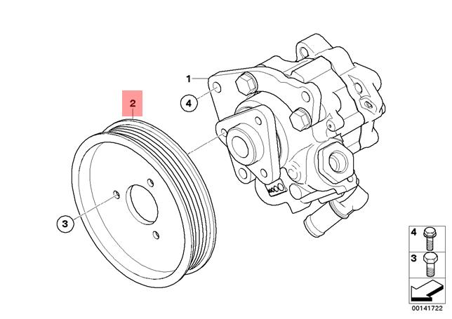 Genuine BMW E60 E61N E63 E64 E90 E90N Power Steering