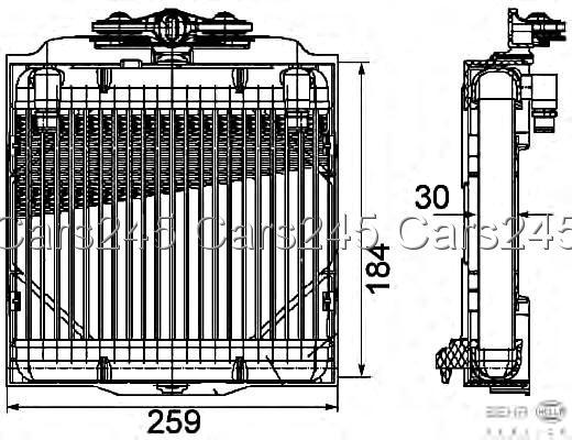 BMW 5 F11 F10 F18 2008- HELLA BEHR Automatic Transmission