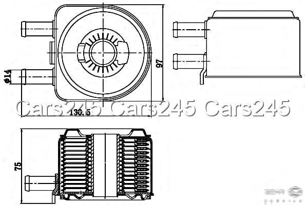Citroen C8 C5 II 2 Berlingo Box 1998- Peugeot HELLA BEHR