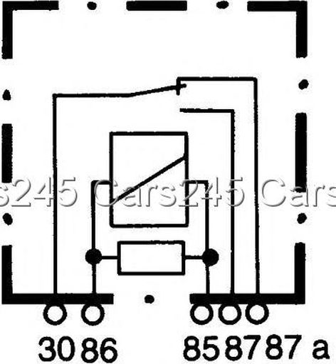 HELLA Change Over Relay Current Control Unit 12V 4RD933319
