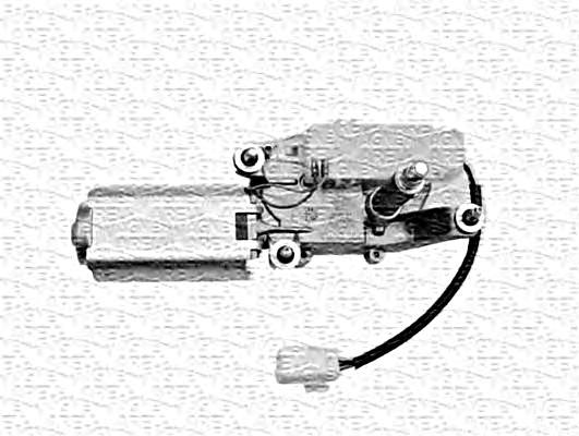 Rear Windscreen Wiper motor Rear Fits Fiat Doblo Cargo 223
