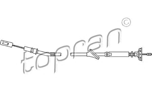 Clutch Cable Fits VW Golf Mk2 Jetta II Hatchback Sedan