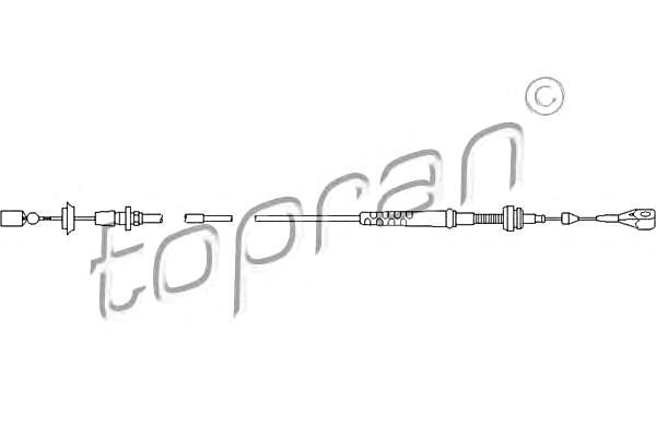 Accelerator Cable Manual Transmission Fits SEAT Ibiza Inca