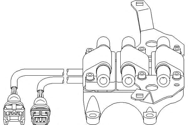 Ignition Coil Pack Fits AUDI A4 Avant B5 8D Sedan Wagon 2