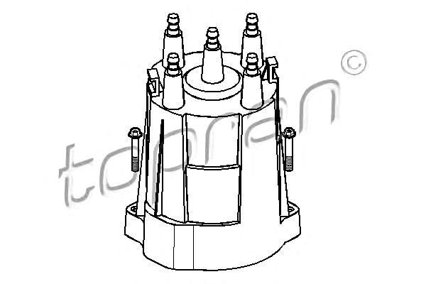 Ignition Distributor Cap Fits OPEL Ascona Astra Corsa