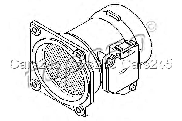 Mass Air Flow Sensor MAF Fits AUDI A6 4B2 C5 A4 8D2 B5 VW