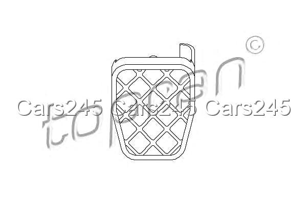 Brake Pedal Rubber Pad Cover Fits VW Caddy Golf Mk V