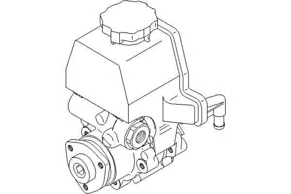 Power Steering Pump Fits MERCEDES Sprinter Vito W904 904 2