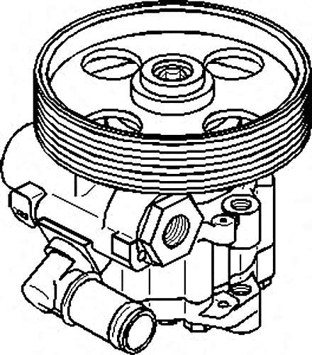 Power Steering Pump Fits CITROEN Dispatch Jumpy PEUGEOT