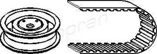 Timing Belt Kit Fits AUDI 100 44 C3 C2 SEAT Ibiza VW B4 1