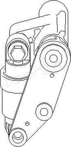 Hydraulic Belt Tensioner Conversion Kit Fits BMW 3 5 7 X3