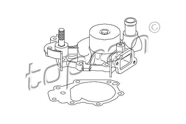 Water Pump Fits RENAULT Kangoo Express Clio Twingo 1-1.2L