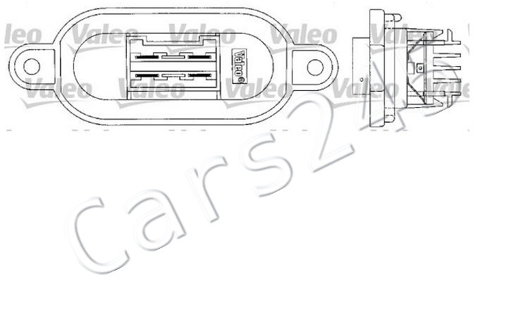 FIAT Punto Van Convertible Heater Blower Motor Resistor