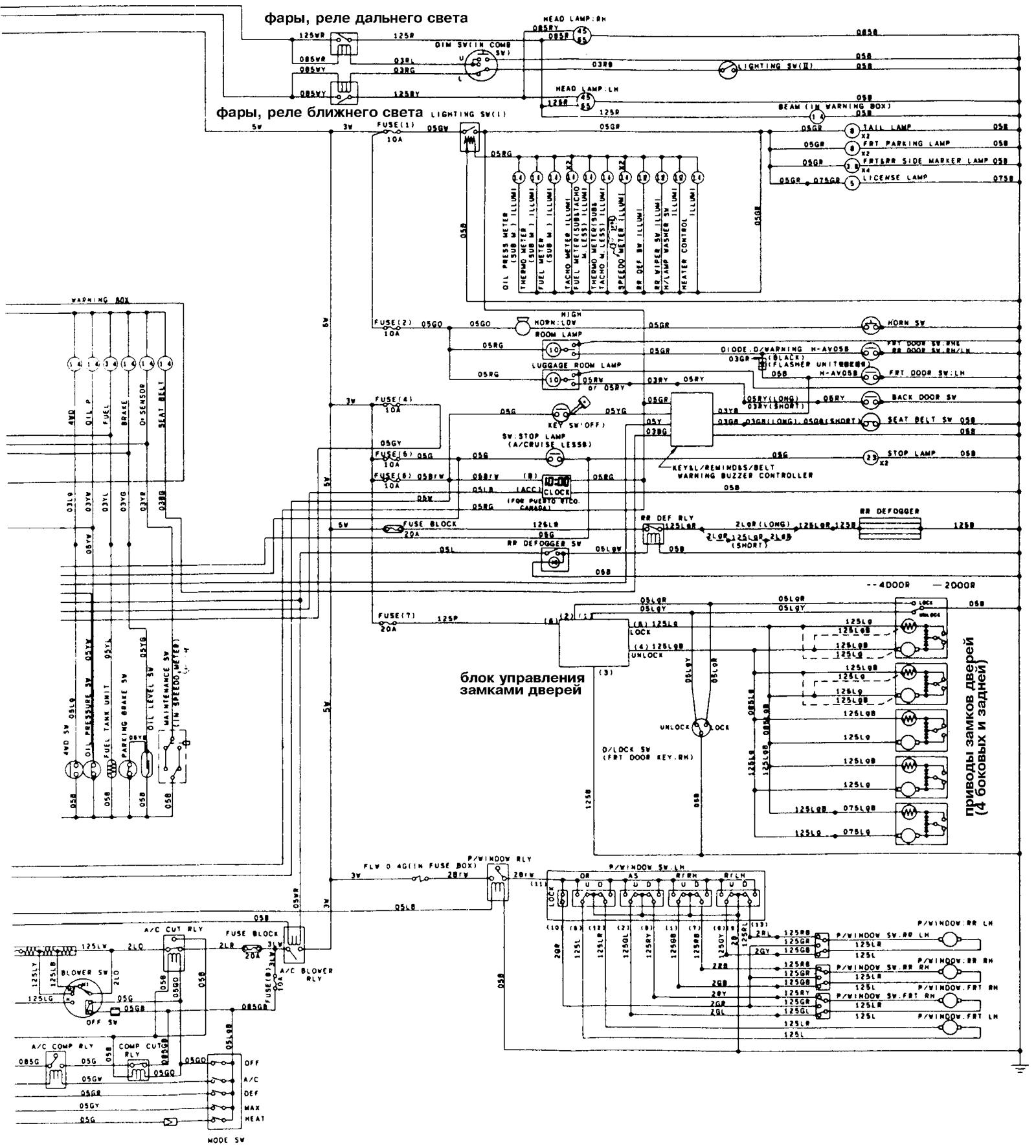 hight resolution of isuzu pickup trucks 1988 isuzu pickup wiring diagram isuzu trooper transmission isuzu trooper engine 1987 isuzu