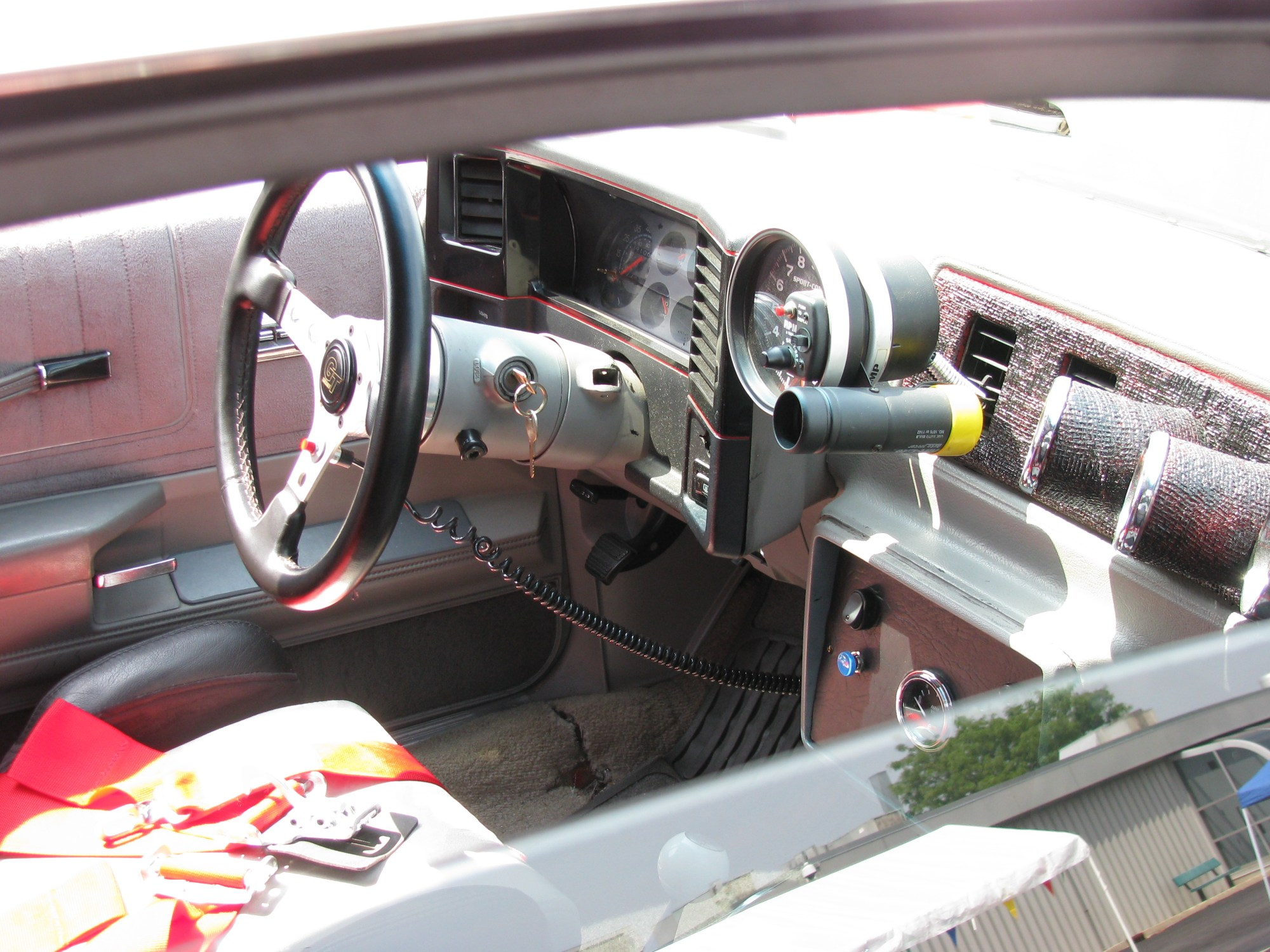 hight resolution of view photo of modified 1985 chevrolet el camino