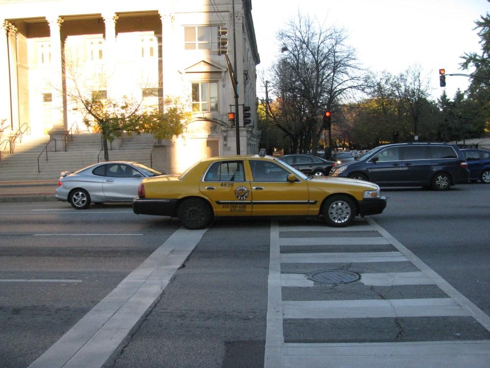 medium resolution of view photo of yellow cab mercury grand marquis