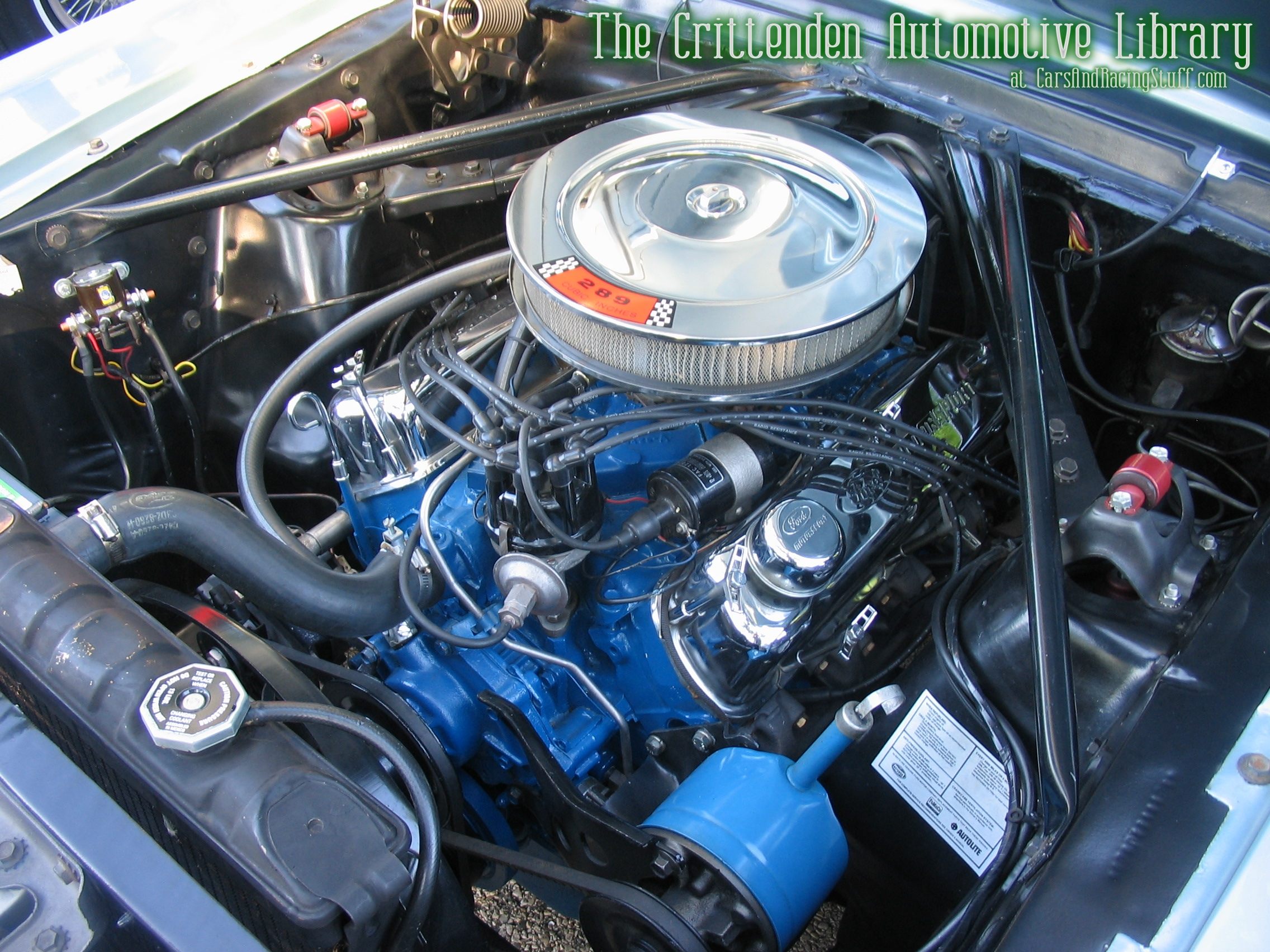 1966 mustang 289 engine dodge stratus wiring diagram ford the crittenden automotive library