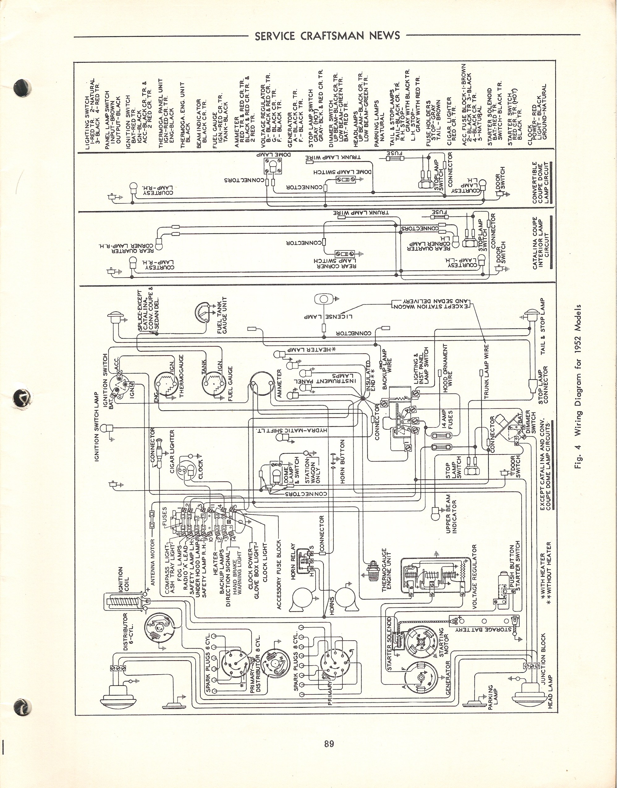 hight resolution of 1951 pontiac wiring diagram