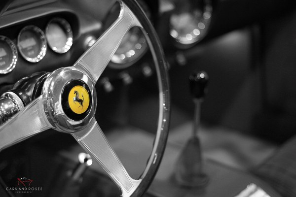 Ferrari 250 Gt Steering Wheel Cars And Roses