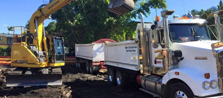 Brisbane earthmoving equipment