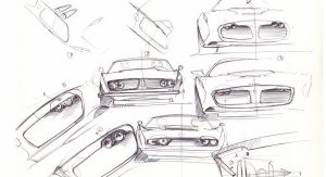 Iso Rivolta Marella Design Study Based on Corvette ZR-1