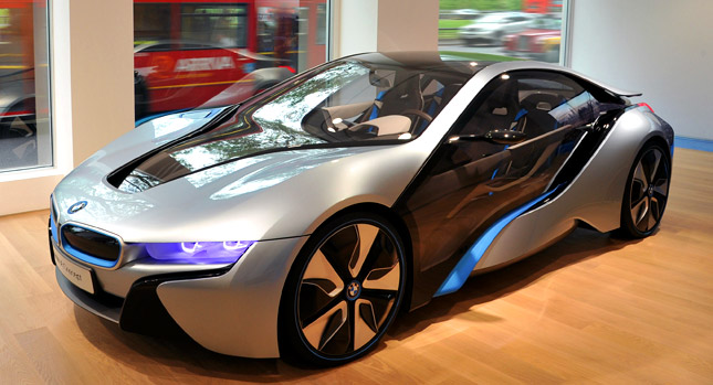 BMW Says i8 Plug-in Hybrid Coupe to Cost 'More than € ...