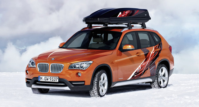 bmw x1 concept k2 power ride and x1