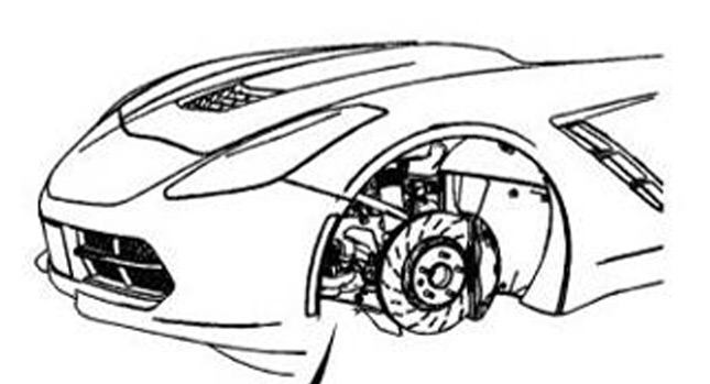 2014 Corvette C7 Shows its Nose on GM Service Manual
