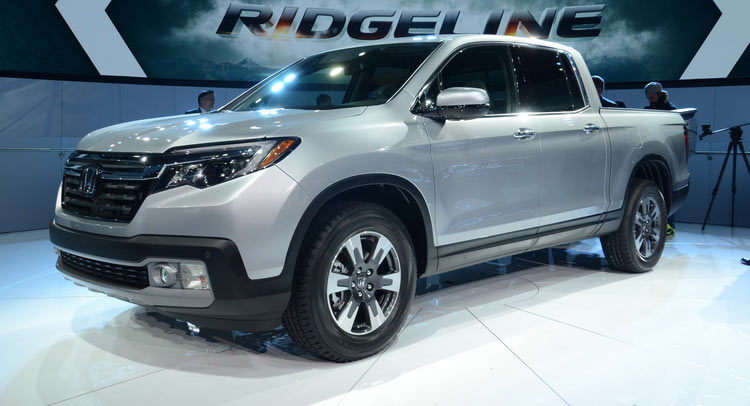 All New Honda Ridgeline Brought Its Conservative Design To