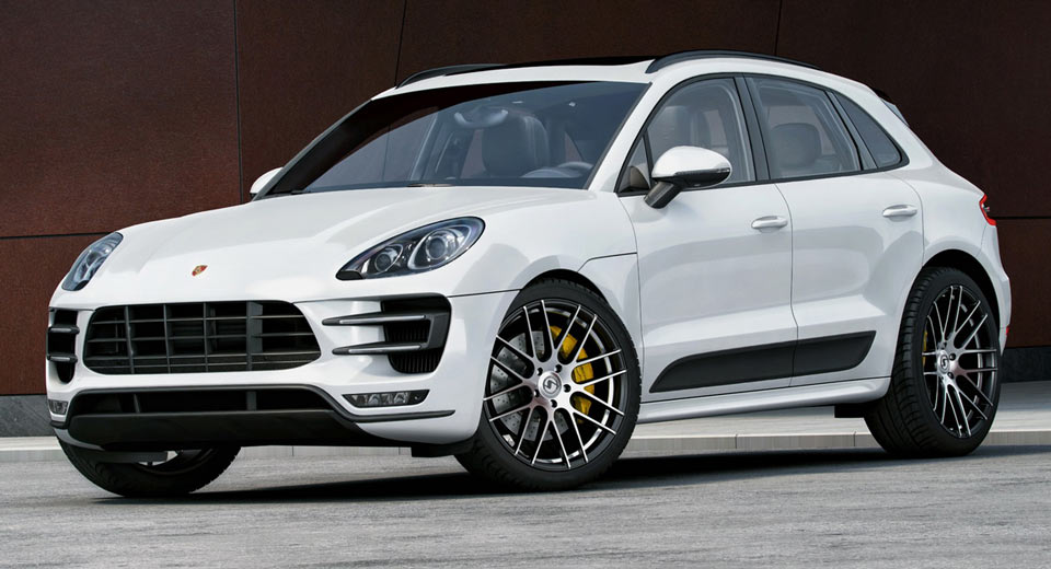 Porsche Macan Turbo Gets More Power New Wheels From