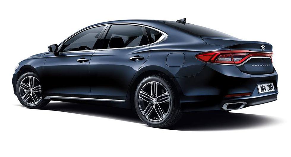Hyundais All New 2017 Azera Grandeur Launches In Korea