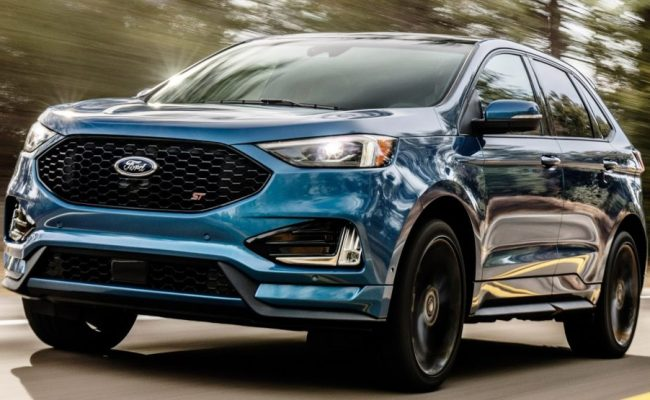The New 2019 Ford Edge St Is The Sharpest Yet Carscoops