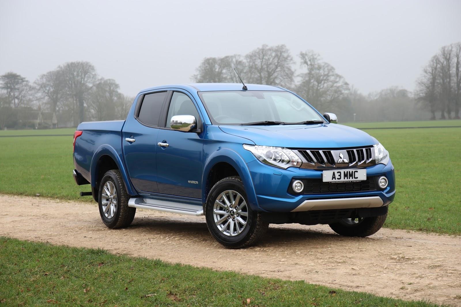 Mitsubishi Upgrades L200 Pickup Truck To Tow Heavier Stuff | Carscoops