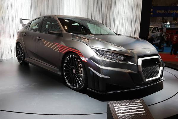 Mugen Unveils Rc20gt Civic Type Concept In Tokyo Carscoops