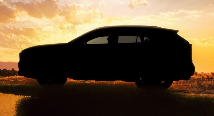 Первый официальный тизер Toyota RAV4 2019
