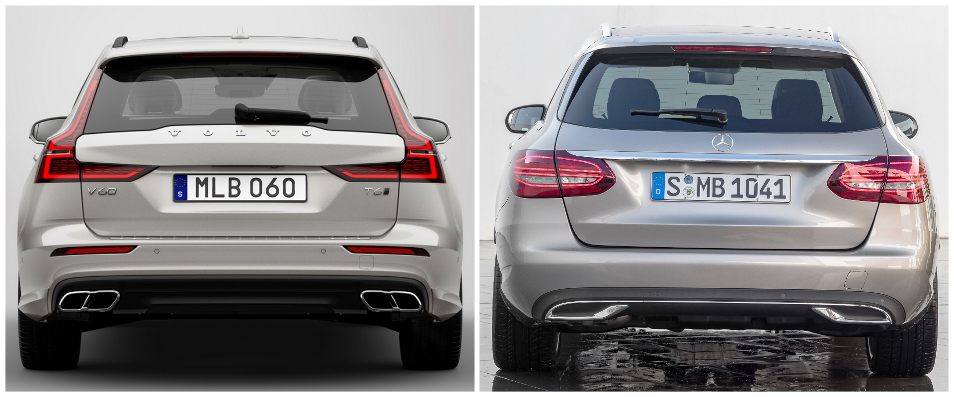New Volvo V60 Vs Mercedes C Class Estate Lets See Which