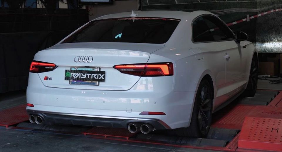 2018 audi s5 coupe gets weaponized with